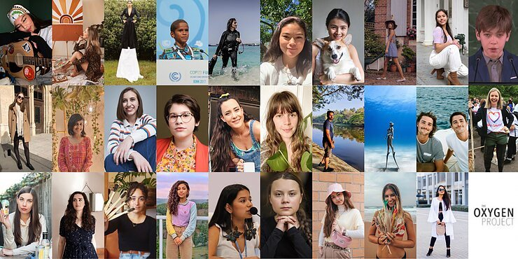 The Oxygen Project's First Annual 30 Most Inspiring Eco-Warriors Under 30