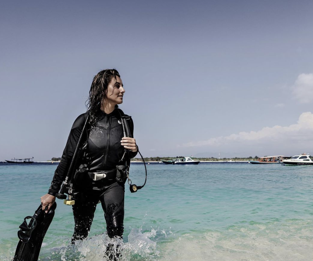 Eco-Warrior Profile: Scuba Sarah Dives In All Seven Continents